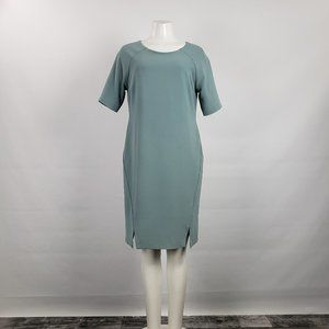Jana Blue Shift Dress Size M